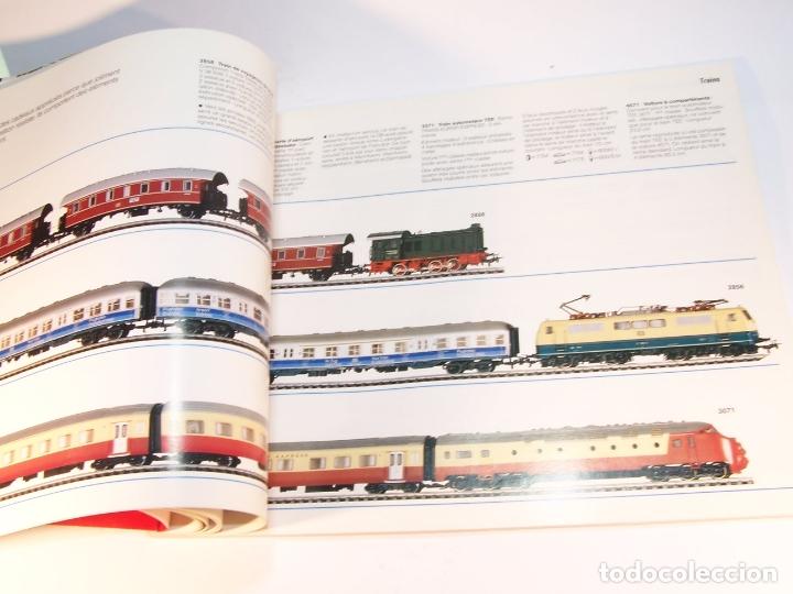 Trenes Escala: Catálogo de trenes. Märklín. H0. 1987/88 F. Francés. 176 pp. - Foto 5 - 175824698