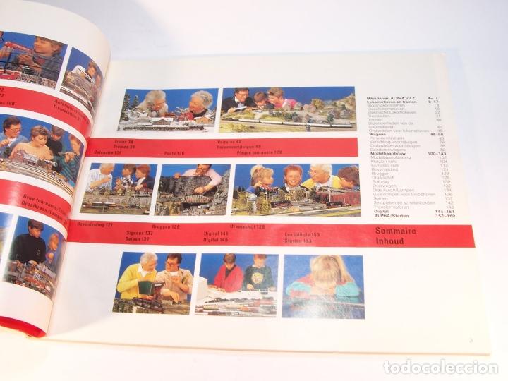 Trenes Escala: Catálogo de trenes. Märklín. H0. 1989/90 F - NL. Francés y Neerlandés. 160 pp. - Foto 2 - 175825183