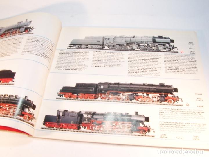Trenes Escala: Catálogo de trenes. Märklín. H0. 1989/90 F - NL. Francés y Neerlandés. 160 pp. - Foto 3 - 175825183