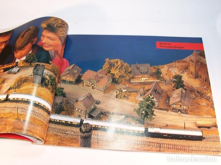 Trenes Escala: Catálogo de trenes. Märklín. H0. 1989/90 F - NL. Francés y Neerlandés. 160 pp. - Foto 4 - 175825183