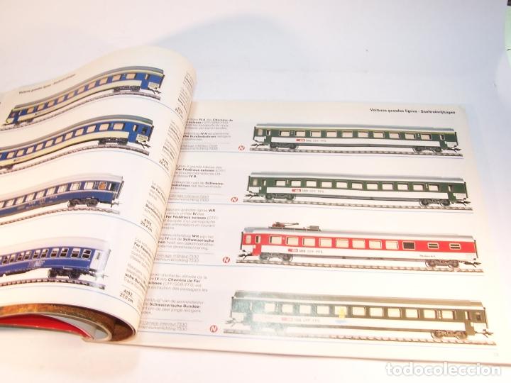 Trenes Escala: Catálogo de trenes. Märklín. H0. 1989/90 F - NL. Francés y Neerlandés. 160 pp. - Foto 5 - 175825183