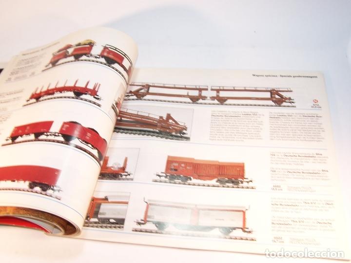 Trenes Escala: Catálogo de trenes. Märklín. H0. 1989/90 F - NL. Francés y Neerlandés. 160 pp. - Foto 6 - 175825183