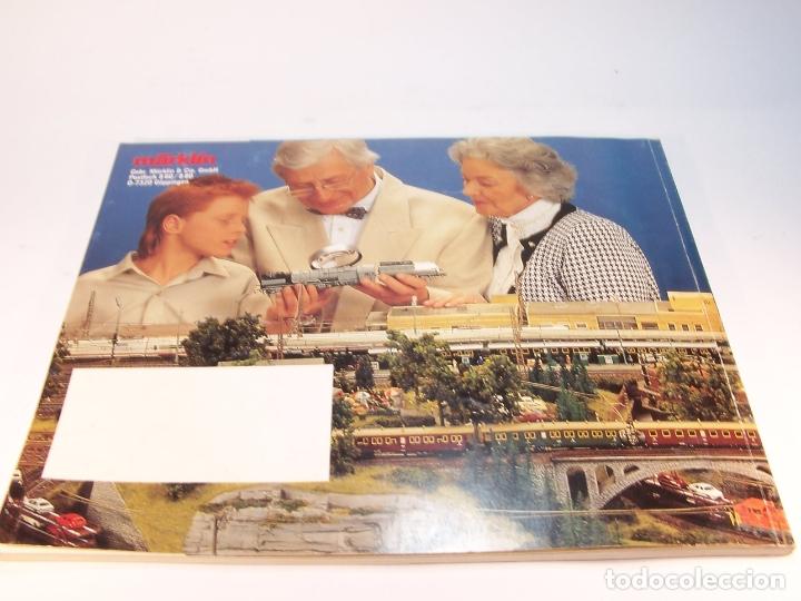 Trenes Escala: Catálogo de trenes. Märklín. H0. 1989/90 F - NL. Francés y Neerlandés. 160 pp. - Foto 7 - 175825183