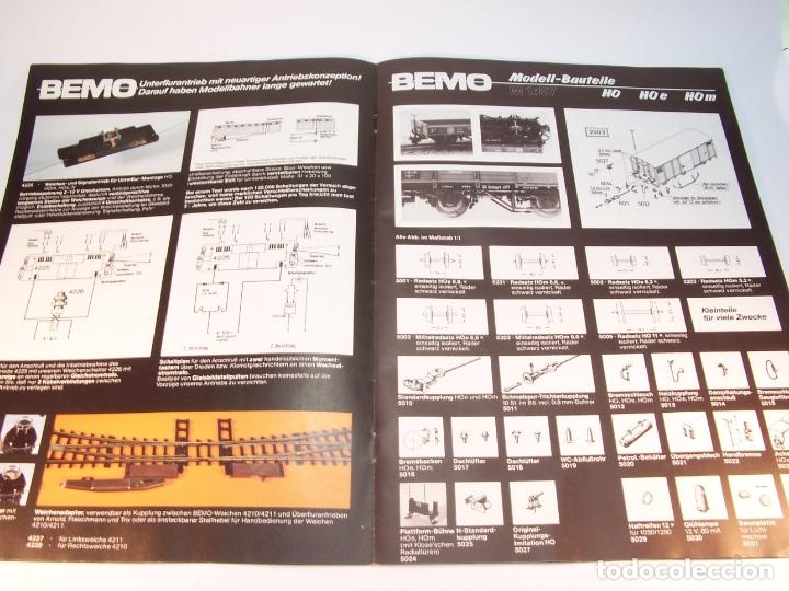 Trenes Escala: Catálogo de trenes. Bemo. 1987. M1. HOe y HOm. Alemania. Alemán. 23 pp. - Foto 3 - 175833692