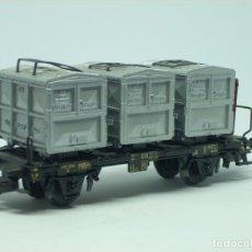 Trenes Escala: VAGON MERCANCIA HO. Lote 175869224