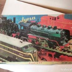 Trenes Escala: TREN CON CAJA ORIGINAL JYESA ESCALA H0 COMPLETO.. Lote 175933128