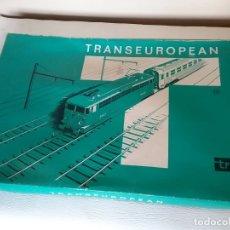 Trenes Escala: TREN TROBY TRANSEUROPEAN ESCALA H0 CON CAJA ORIGINAL.. Lote 175933284