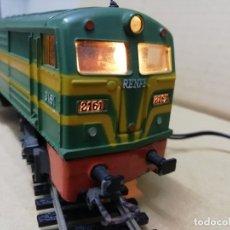 Trenes Escala: LOCOMOTORA DIESEL ALCO 2100 RENFE IBERTREN H0. Lote 176768393