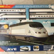 Trenes Escala: TREN ELÉCTRICO RENFE AVE DE MEHANO. E:0. Lote 177467052