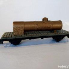 Trenes Escala: GARVI VAGÓN TRANSPORTE DE CALDERA. Lote 177627968