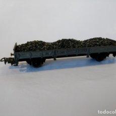 Trenes Escala: GARVI VAGÓN TRANSPORTE DE CARBÓN BORDES BAJOS. Lote 177628022