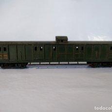 Treni in Scala: FURGÓN METÁLICO DE DOBLE BOGIE DE LA SNCF. Lote 177790883