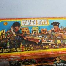 Trenes Escala: TREN DEL FAR WEST COMANSI COMAN BOYS NUEVO. Lote 178284662