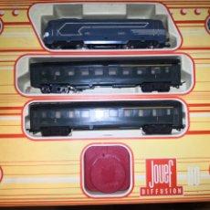Trenes Escala: TREN A PILAS DE JOUEF. Lote 178762542