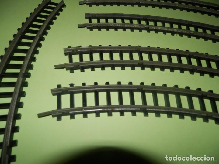 Trenes Escala: VIAS DE TREN ANTIGUAS LYESA LOTE DE 11 VIAS 1800 CURVAS - Foto 2 - 178854618
