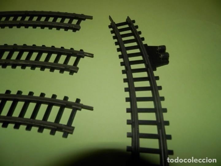 Trenes Escala: VIAS DE TREN ANTIGUAS LYESA LOTE DE 11 VIAS 1800 CURVAS - Foto 3 - 178854618