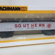 Trenes Escala: BACHMANN ESCALA H0 SOUTHERN DE 15.5CMS EN PLATA. Lote 178867070