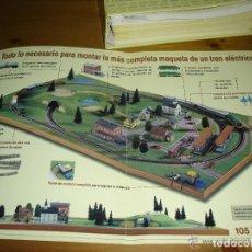 Trenes Escala: MAQUETA DE TREN CLUB DEL COLECCIONISTA COMPLETA PARA MONTARLA. Lote 179112778