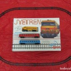 Trenes Escala: TREN ELECTRICO A PILAS JYETREN. JYESA. Lote 179243442