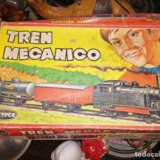 Trenes Escala: TREN MECANICO GEYPER 123 FUNCIONA. Lote 179521172