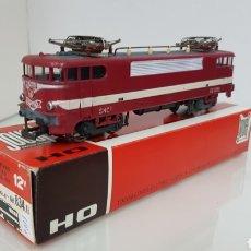Trenes Escala: JOUEF 834 LOCOMOTORA CAPITOLE EN GRANATE DE LA SNCF FRANCESA DE 19 CM ESCALA H0 CORRIENTE CONTINUA. Lote 180103710