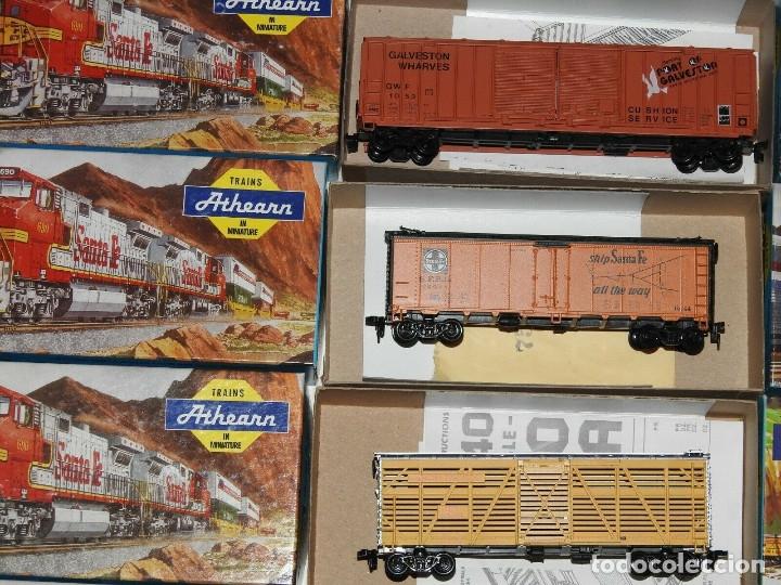 Trenes Escala: Athearn Lote de 13 Vagones Americanos Escala H0 - Foto 2 - 180432705