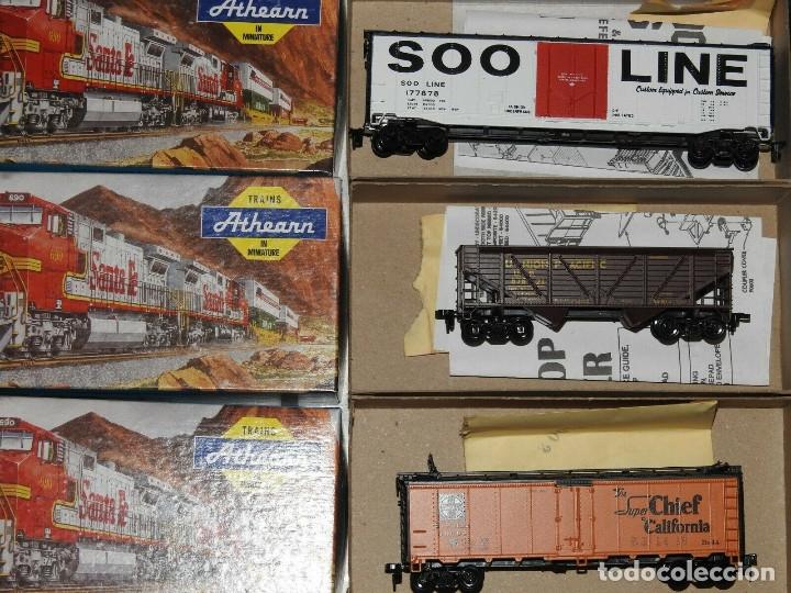 Trenes Escala: Athearn Lote de 13 Vagones Americanos Escala H0 - Foto 3 - 180432705