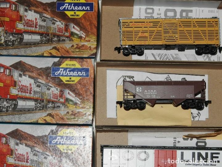 Trenes Escala: Athearn Lote de 13 Vagones Americanos Escala H0 - Foto 4 - 180432705