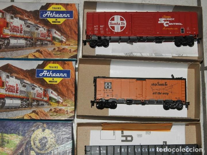 Trenes Escala: Athearn Lote de 13 Vagones Americanos Escala H0 - Foto 5 - 180432705