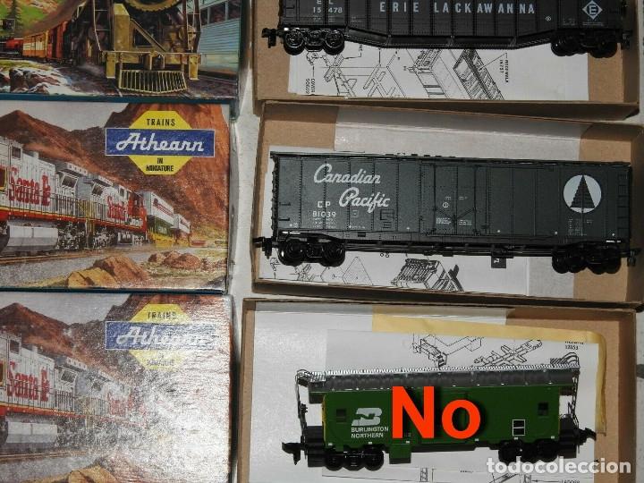 Trenes Escala: Athearn Lote de 13 Vagones Americanos Escala H0 - Foto 6 - 180432705