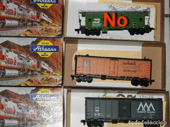 Trenes Escala: Athearn Lote de 13 Vagones Americanos Escala H0 - Foto 7 - 180432705