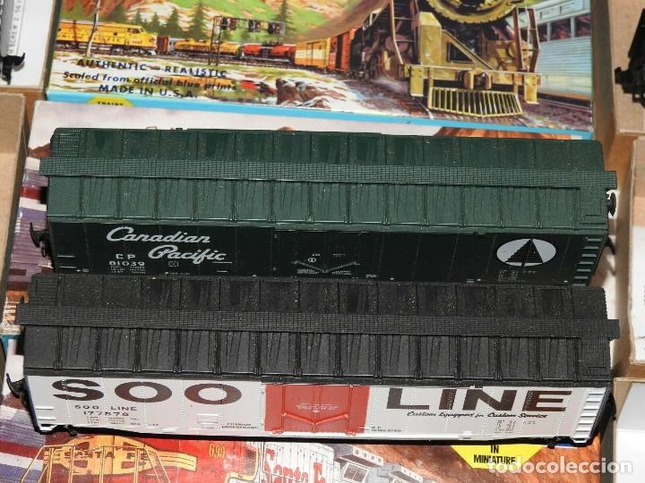 Trenes Escala: Athearn Lote de 13 Vagones Americanos Escala H0 - Foto 8 - 180432705