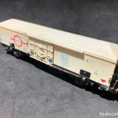 Trenes Escala: VAGÓN DE MERCANCÍAS TRANSFESA - ELECTROTREN ESCALA H0 . Lote 181130025