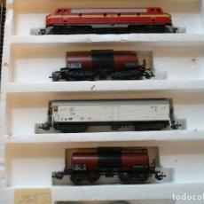 Trenes Escala: FERROCARRIL / TRENES / RAÍLES A ESCALA ALEMANIA ORIENTAL DDR 1970 PERFECTO ESTADO EMBALADO. Lote 181988922