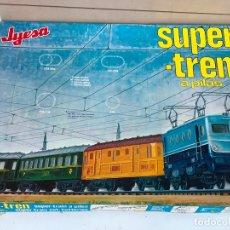 Trenes Escala: SUPER-TREN A PILAS JYESA. Lote 182113373