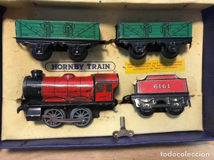 Trenes Escala: TREN COMPLETO CON CAJA. HORNBY. MECCANO LTD LIVERPOOL. GROOT BRITTANNIE. M0 GOEDERENTREIN - Foto 2 - 182357378