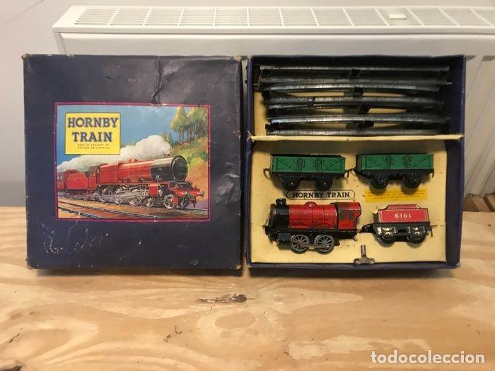 Trenes Escala: TREN COMPLETO CON CAJA. HORNBY. MECCANO LTD LIVERPOOL. GROOT BRITTANNIE. M0 GOEDERENTREIN - Foto 8 - 182357378