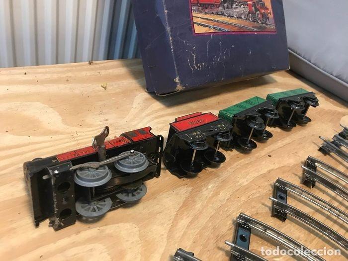 Trenes Escala: TREN COMPLETO CON CAJA. HORNBY. MECCANO LTD LIVERPOOL. GROOT BRITTANNIE. M0 GOEDERENTREIN - Foto 10 - 182357378