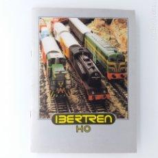 Trenes Escala: CATÁLOGO IBERTREN H0 AÑO 1980, MUY BUEN ESTADO. Lote 182525690
