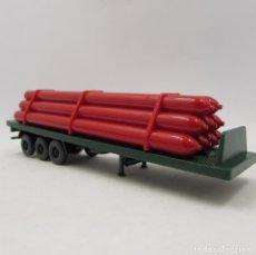 Trenes Escala: WIKING TRAILER TRANSPORTE DE GAS HIDÓGENO. ESCALA 1/87 H0 (3325). Lote 182779446