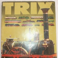 Trenes Escala: CATALOGO DE TRENES TRIX Y MINITRIX AÑO 84/85. Lote 182873653