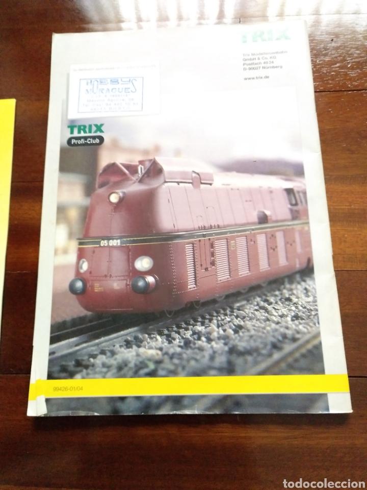 Trenes Escala: 2 Catálogos de trenes TRIX 2004 y 2008 FERROVIARIO - Foto 6 - 182964601