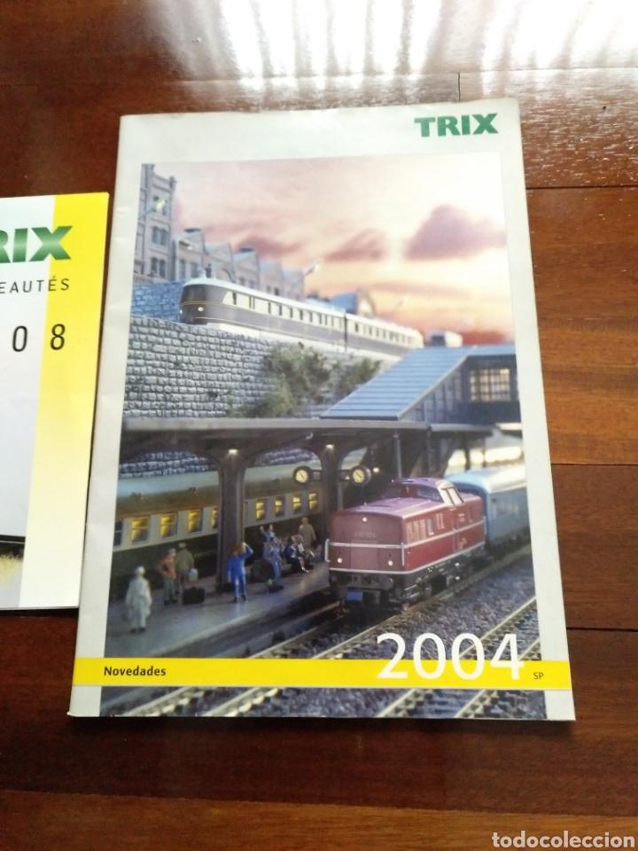 Trenes Escala: 2 Catálogos de trenes TRIX 2004 y 2008 FERROVIARIO - Foto 3 - 182964601