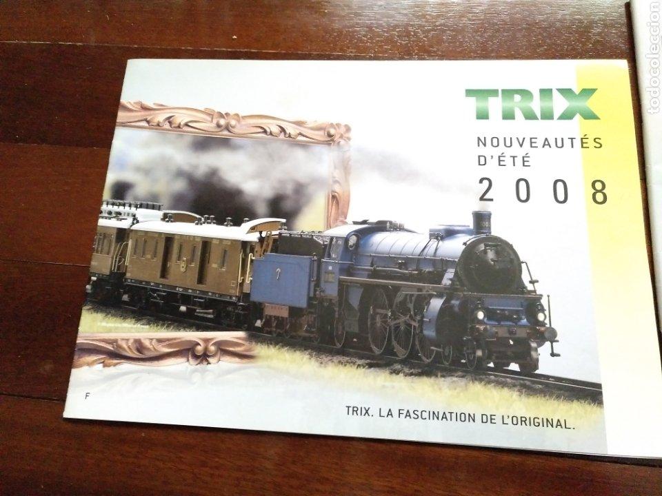 Trenes Escala: 2 Catálogos de trenes TRIX 2004 y 2008 FERROVIARIO - Foto 4 - 182964601