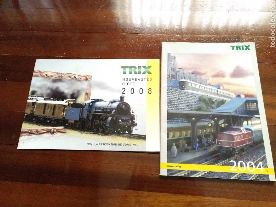 Trenes Escala: 2 Catálogos de trenes TRIX 2004 y 2008 FERROVIARIO - Foto 2 - 182964601