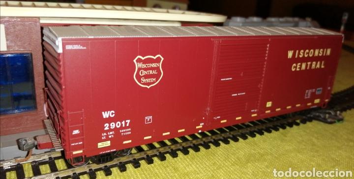 Trenes Escala: Vagón mercancías H0/HO. Bachmann. Ibertren. Electrotren. Roco. Fleischmann. Piko. - Foto 2 - 184046982