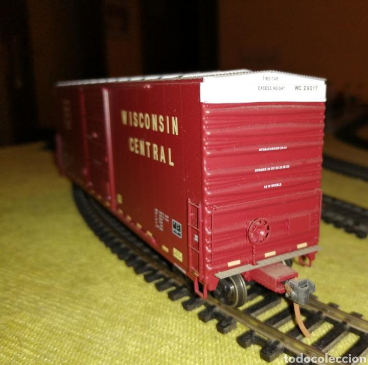 Trenes Escala: Vagón mercancías H0/HO. Bachmann. Ibertren. Electrotren. Roco. Fleischmann. Piko. - Foto 3 - 184046982