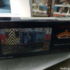 Trenes Escala: BACHMANN LOCOMOTORA 32-107 08 DIESEL SHUNTER CON SU CAJA. Lote 184116085