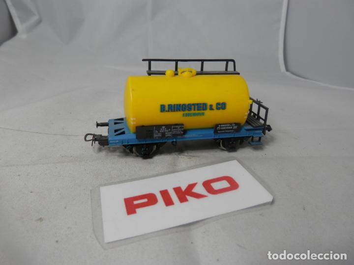 VAGÓN CISTERNA ESCALA HO DE PIKO (Juguetes - Trenes Escala H0 - Otros Trenes Escala H0)