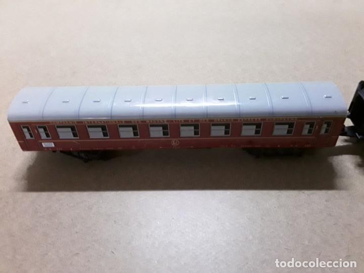 Trenes Escala: Vagones de tren chapa Valencia madrid - Foto 3 - 184574667